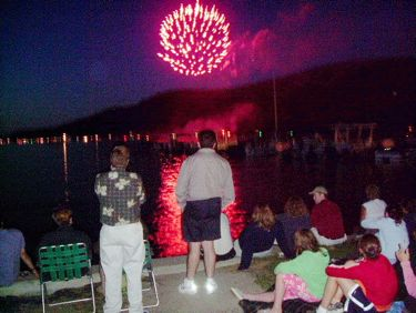Cooperstown NY Fourth of July Photo