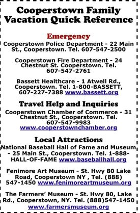 Quick Reference Guide Cooperstown