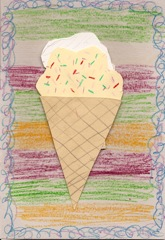 Ice cream graphic