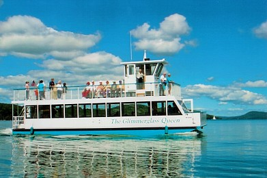 Glimmerglass Queen boat, Otsego Lake, Cooperstown, NY
